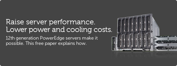 Raise server performance. Lower power and cooling costs.