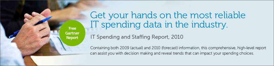 The most reliable IT spending data in the industry.