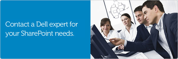 Learn more about Dell SharePoint solutions.