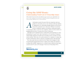 MSSP Secureworks White Paper